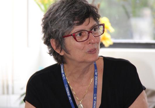 Celina Turchi: mulher, brasileira e trabalhadora do SUS (foto: Fiocruz Pernambuco)