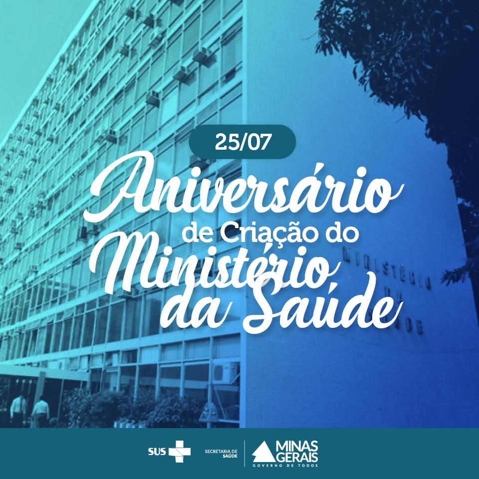 Aniversário de Criação do Ministério da Saúde