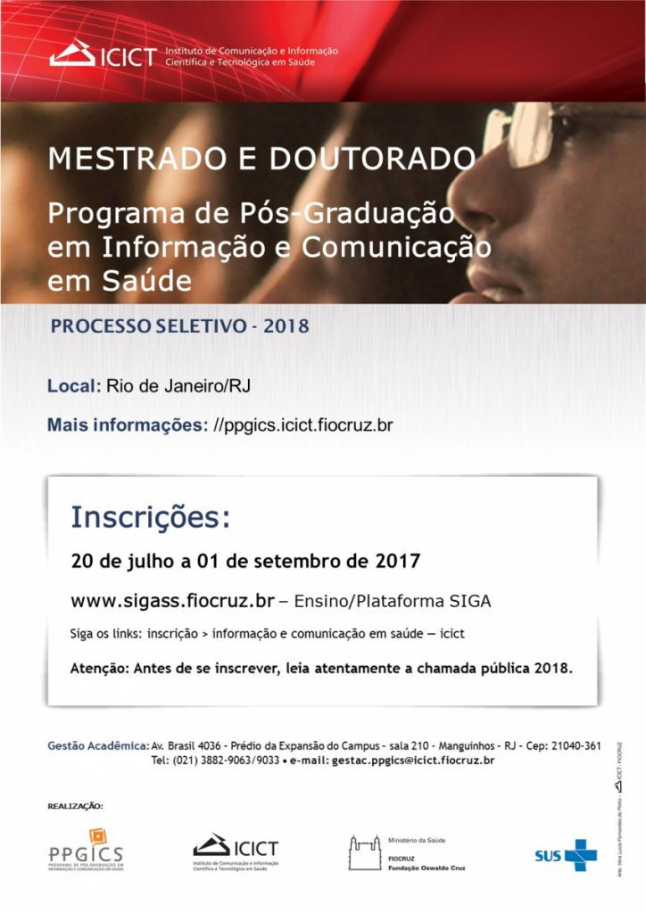 Cartaz - Processo Seletivo 2018[1]