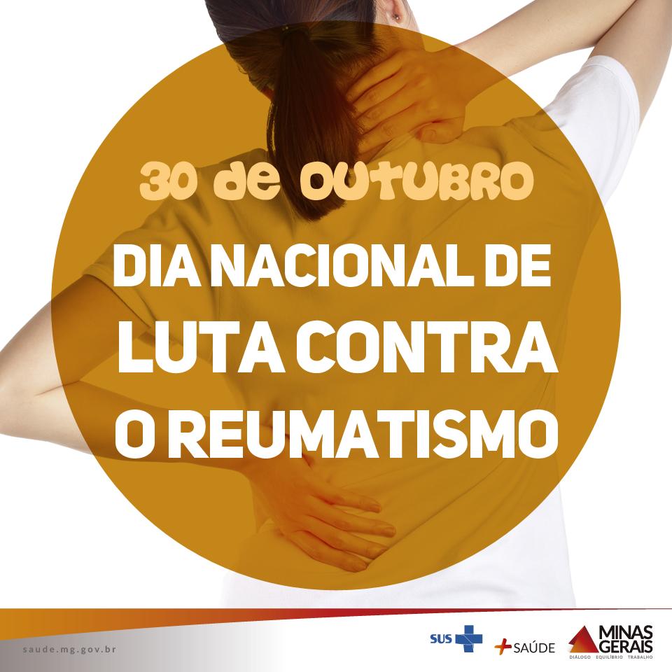 30.10 Dia Nacional de Luta contra o reumatismo