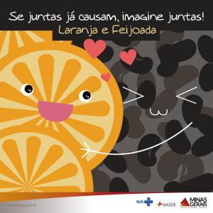 Feijoada e laranja