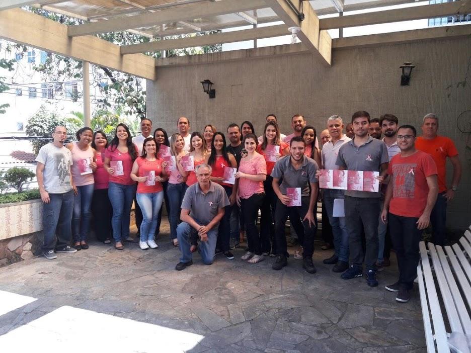 Gerais Construtora – Campanha junto a todos funcionários.