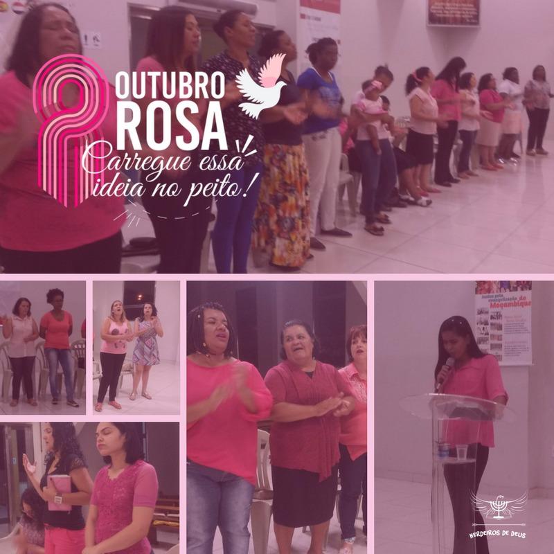 Igreja Herdeiros de Deus – (Bairro São Gabriel) - Ação durante reunião de mulheres.