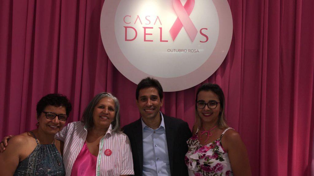 Maria das Dores: Mobilizadora Social -Realizou palestra sobre o câncer de mama e de colo de útero.