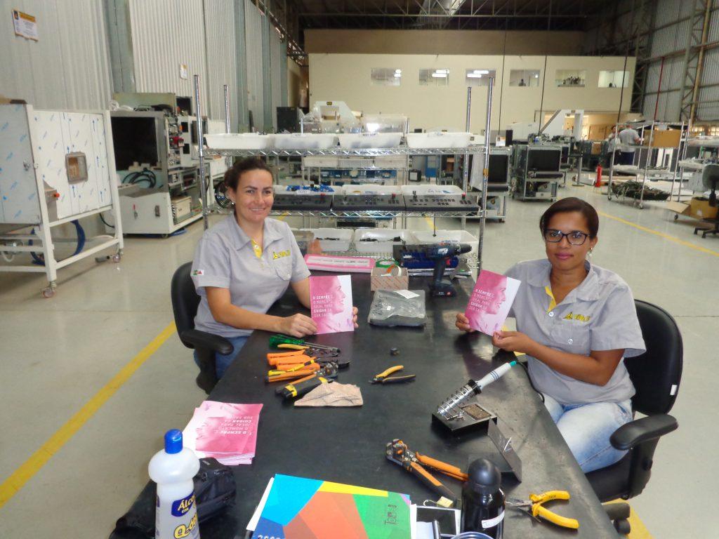 VMI Sistemas: Ginástica laboral com conscientização para os funcionários.