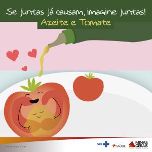 azeite e tomate