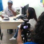 Bastidores - produção do vídeo entrevista