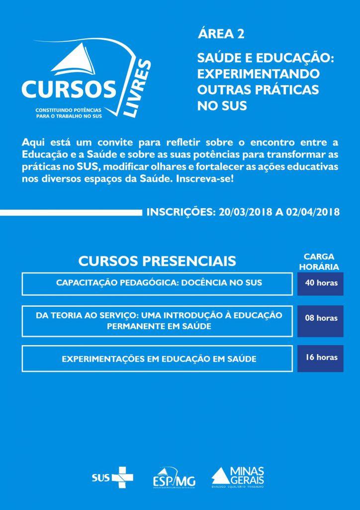 Cursos Livres ESP-MG
