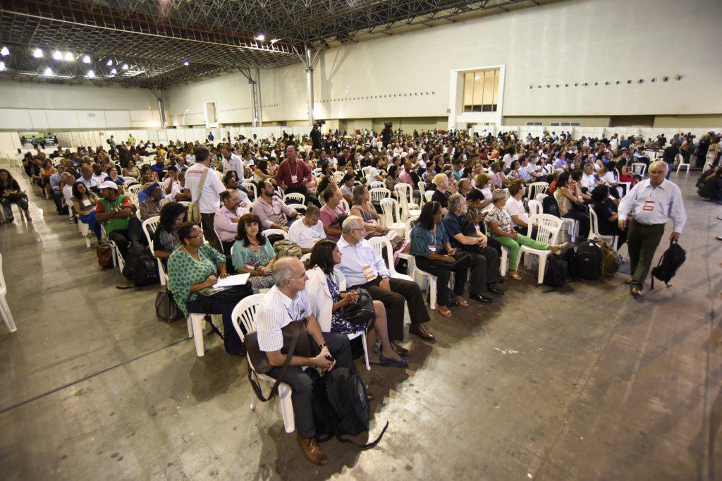 8ª Conferência Estadual de Saúde de Minas Gerais, realizada em setembro de 2015.
